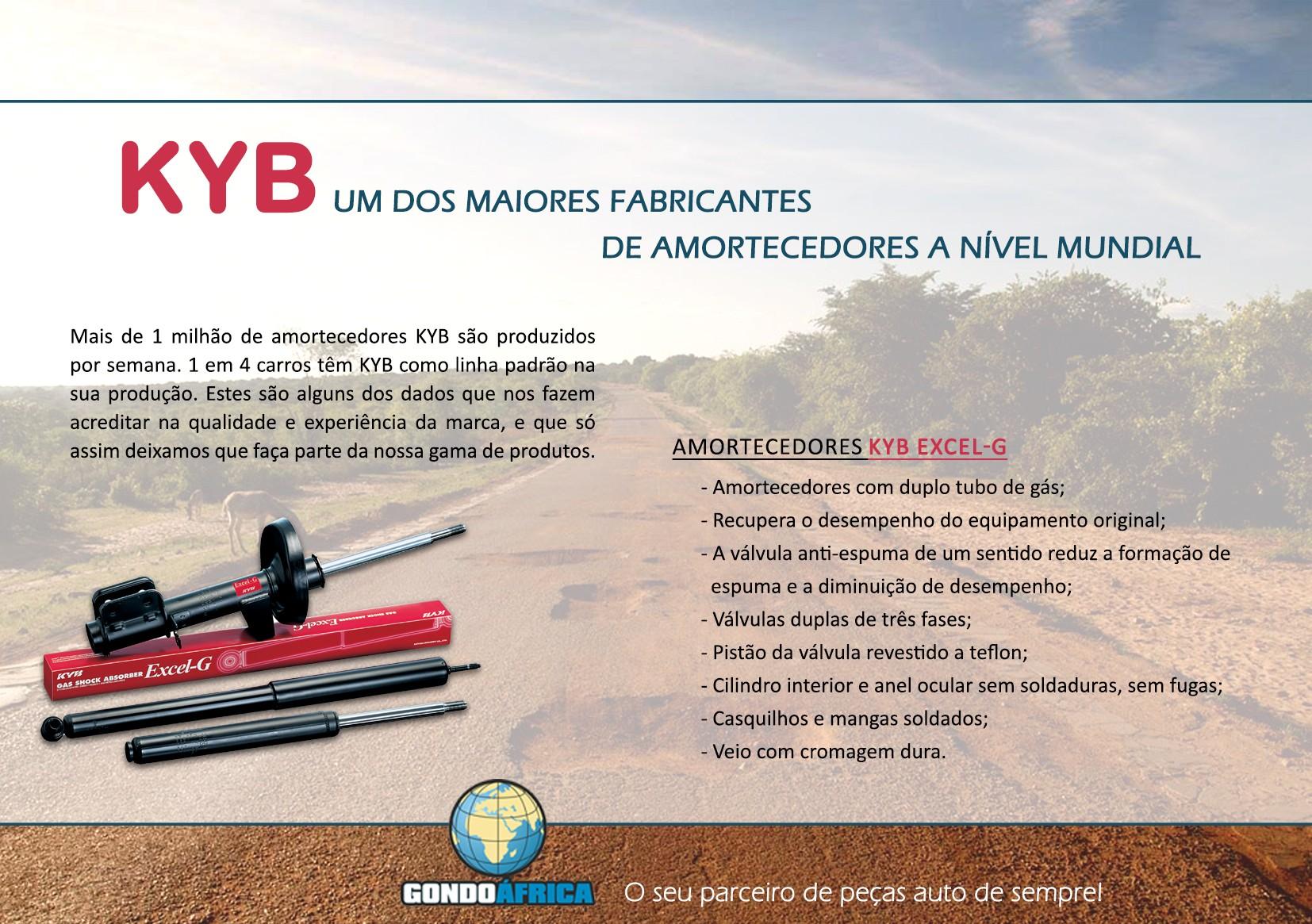 Newsletter KYB Proposta I